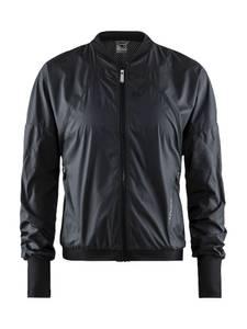 Bilde av Craft - Charge Jacket, Midjekort Treningsjakke, Dame, Sort